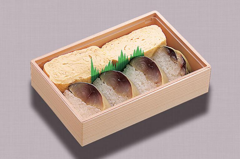 さば寿司だし巻弁当